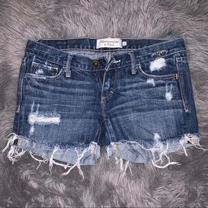 Abercrombie & Fitch Distressed shorts!